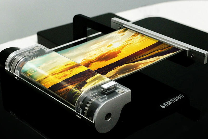 Samsung Galaxy X Rumors foldable bend displays cellphone cellular korea ces oled