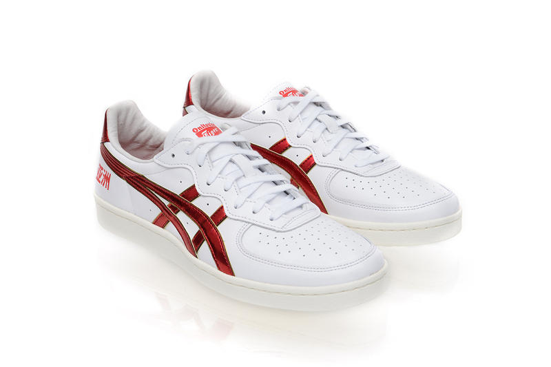 SANKUANZ 2018 Fall Winter footwear collection onitsuka tiger collaboration