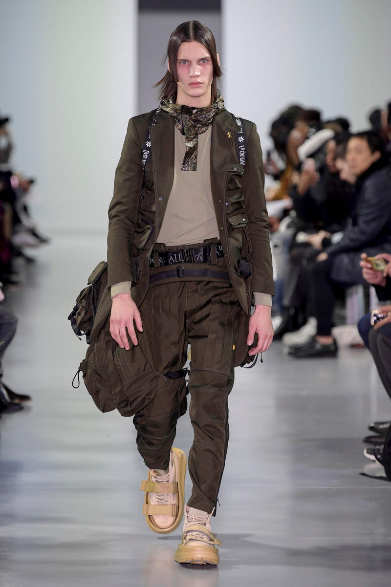 SANKUANZ 2018 Fall/Winter Collection paris fashion week men's