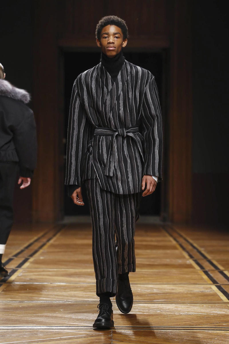 Sean Suen Fall Winter 2018 Collection Paris Fashion Week Men's