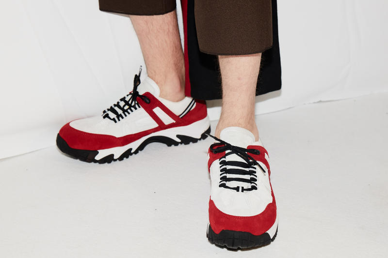 Maison Margiela Security Sneaker Closer Look Fashion Week