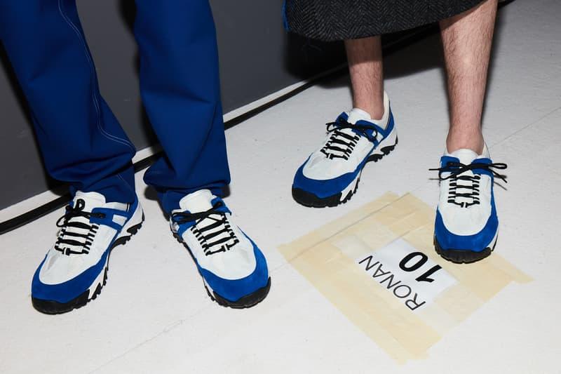 Maison Margiela Security Sneaker Closer Look Fashion Week