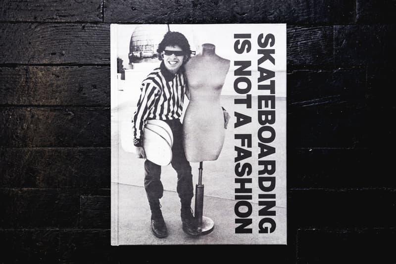 Skateboarding Is Not A Fashion Book Skateboard Apparel Vans