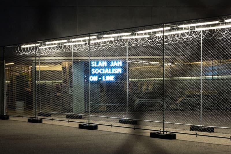 Slam Jam Socialism New York Pop-Up ROA Kappa Kontroll Denim Tears Kalen Hollomon Standing On The Corner Fly Nowhere