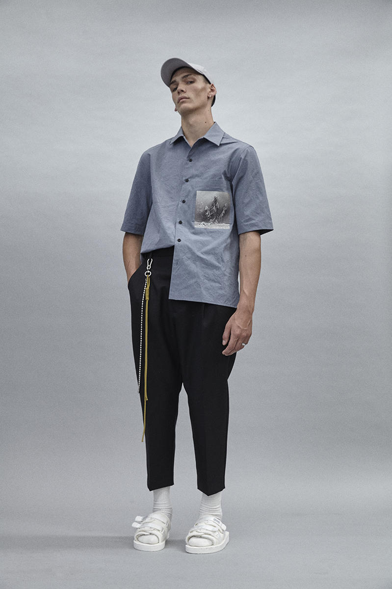 Song for the Mute Fall Winter 2018 Lookbook Sweater T-Shirt Pant Caps