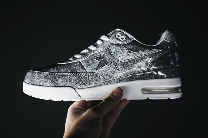 STAMPD x BAPE Roadsta Closer Look