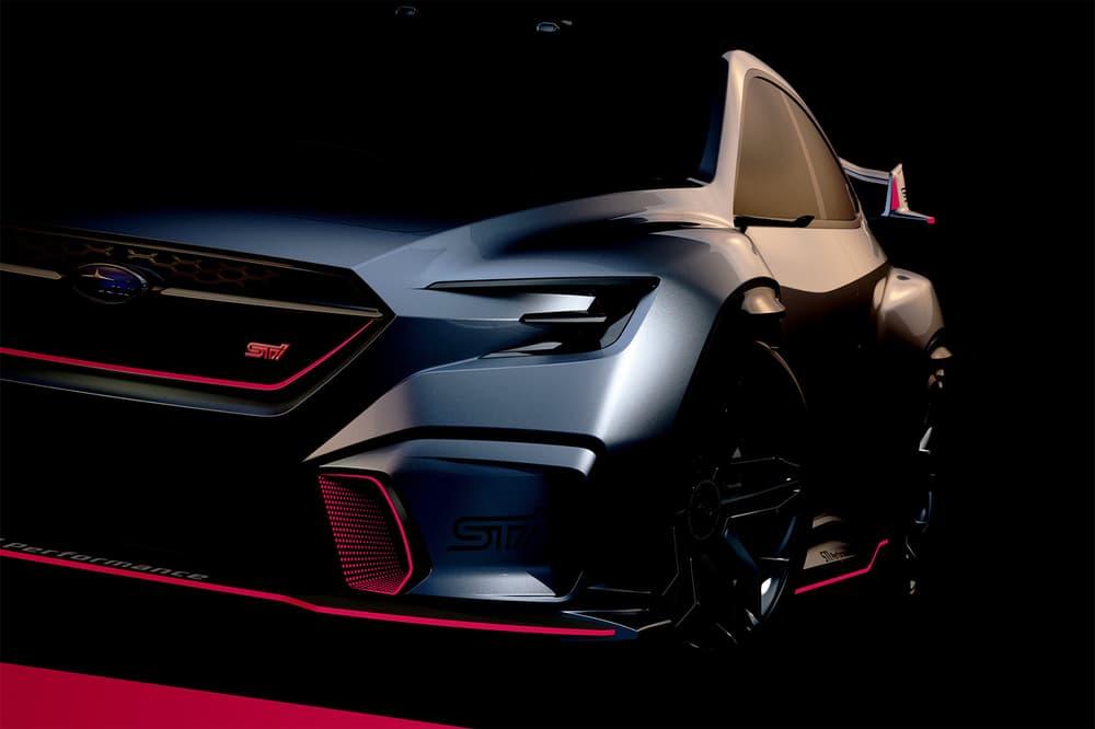 Subaru STI Viziv Performance Concept Teaser 2018 Tokyo Auto Show Salon