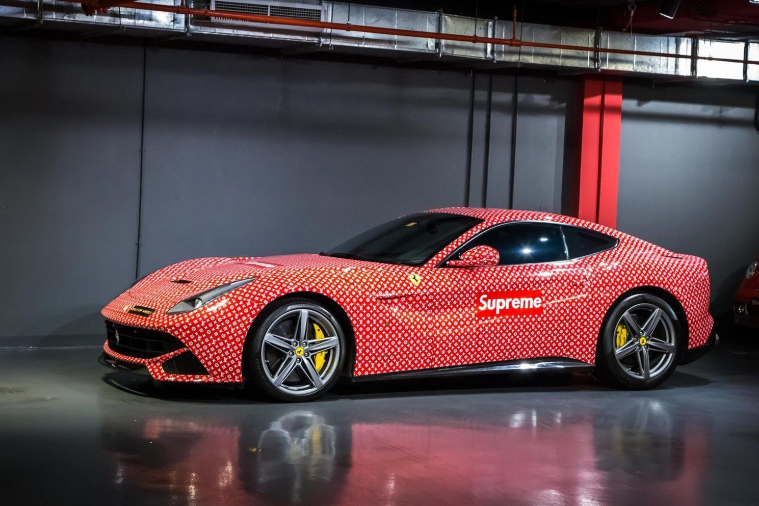 Supreme x Louis Vuitton Ferrari F12 For Sale
