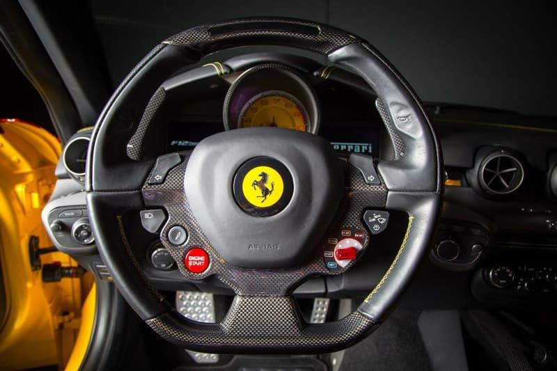 Supreme x Louis Vuitton Ferrari F12 Berlinetta 2014 Custom Model For Sale Auction Deals on Wheels Supercar