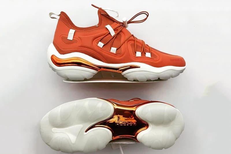 Swizz Beatz  Disruptive Kind  Reebok DMX Run sneaker shoes lifestyle running hip-hop orange metallic