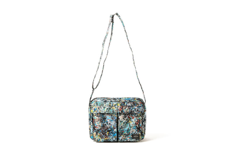 Sync Jackson Pollock Studio Porter Bags Paint Splatter Collaboration 2018 January Release Date Info NEXUS VII Medicom Toy B Jirushi Yoshida