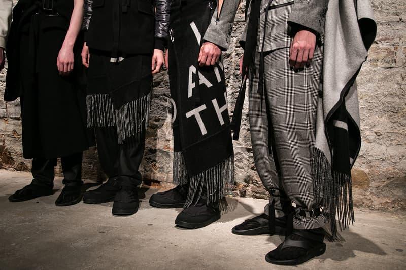 TAKAHIROMIYASHITATheSoloist. Fall/Winter 2018 Backstage Pitti Uomo 93