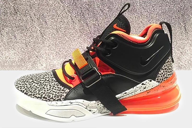 Nike Air Force 270 Safari Orange First Look