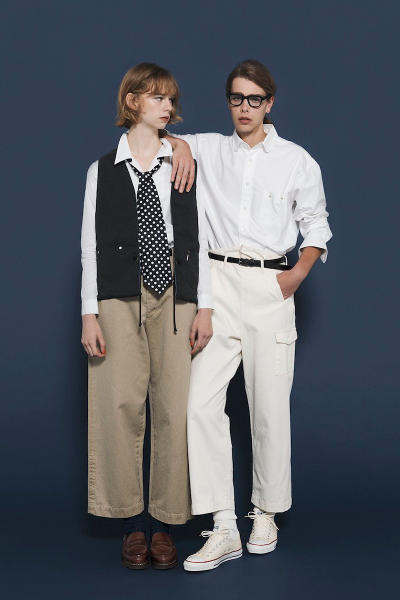 THE NERDYS 2018 Spring Summer Collection lookbook japan annie hall woody allen menswear clothing fashion