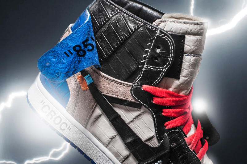 The Shoe Surgeon Croc Off-White Fragment Air Jordan 1 Jordan Brand