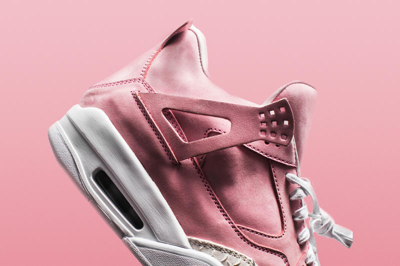 The Shoe Surgeon French Rose White Toe Jordan 4 January 17 Release