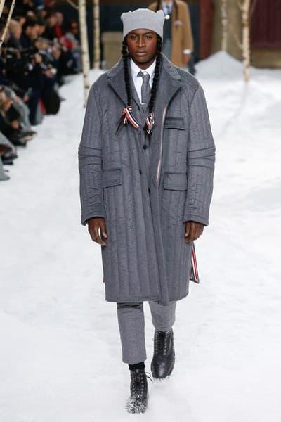 Thom Browne Fall/Winter 2018 Collection Paris Fashion Week Men's