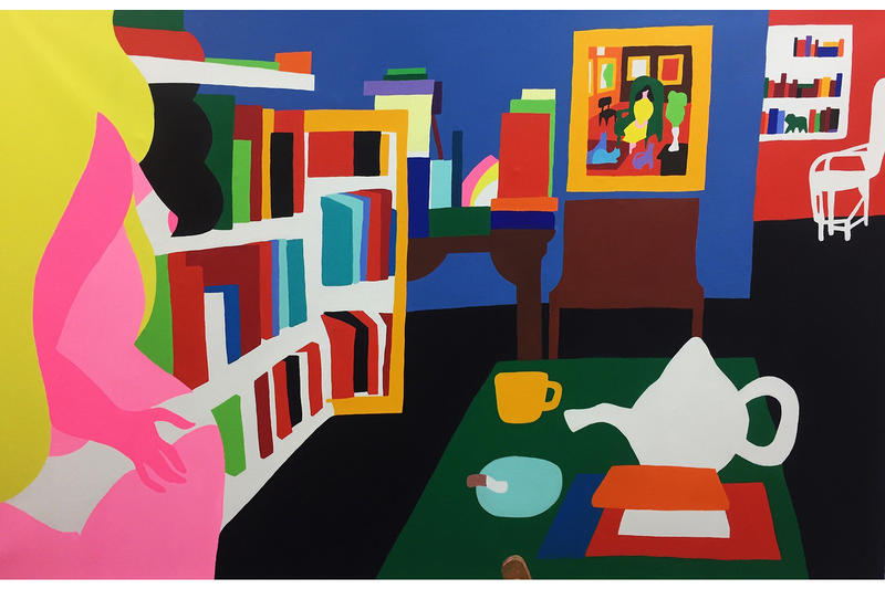 Todd James REAS Eighteen Gallery V1 Exhibit Exhibition Art Artwork Show Paintings