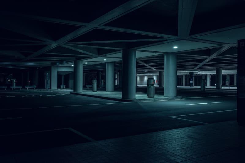 Tom Blachford 'Nihon Noir' Tokyo Photography blade runner neo noir