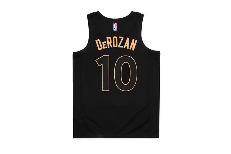 Toronto Raptors OVO Nike Jersey NBA Drake fashion