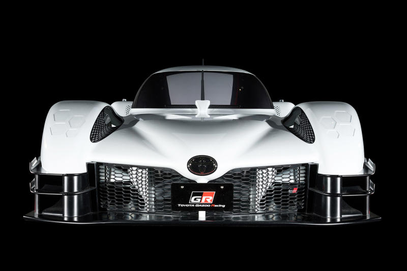 Toyota GR Super Sport Concept World Endurance Championship Gazoo Racing Car White