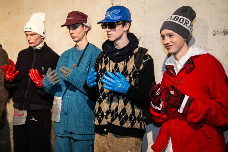 UNDERCOVER Fall/Winter 2018 Pitti Uomo 93 Backstage Imagery Kubrick 2001: A Space Odyssey Virgil Abloh Off-White J.W.Anderson