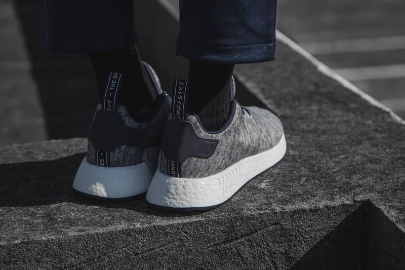 UNITED ARROWS and SONS adidas Originals HBX Kasper Dolberg Closer Look NMD R2 NMD CS1 HBX