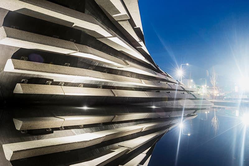 V&A Dundee Museum of Design Kengo Kuma Architecture Opening date scotland