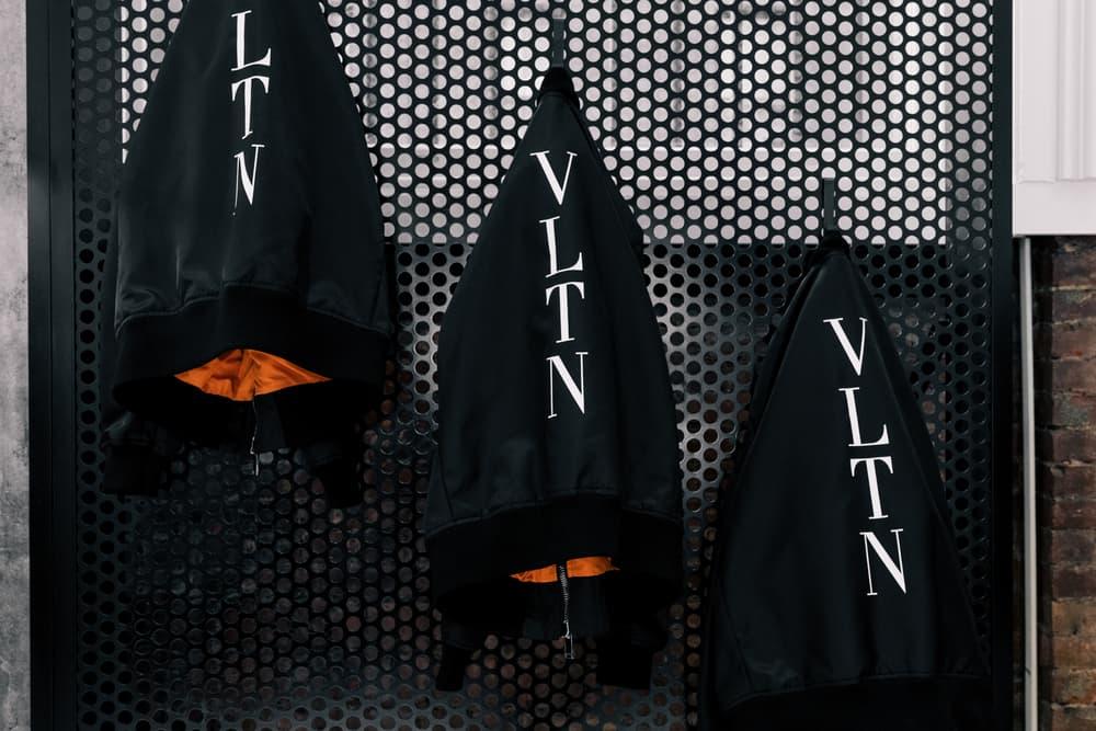 Valentino VLTN New York Men's Pop-Up fashion streetwear couture  Pierpaolo Piccioli