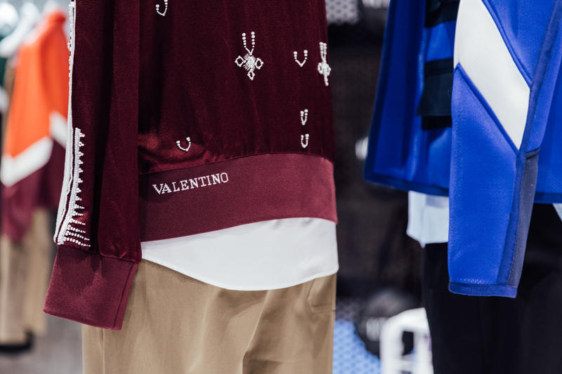 Valentino VLTN New York Men's Pop-Up fashion streetwear couture  Pierpaolo Piccioli