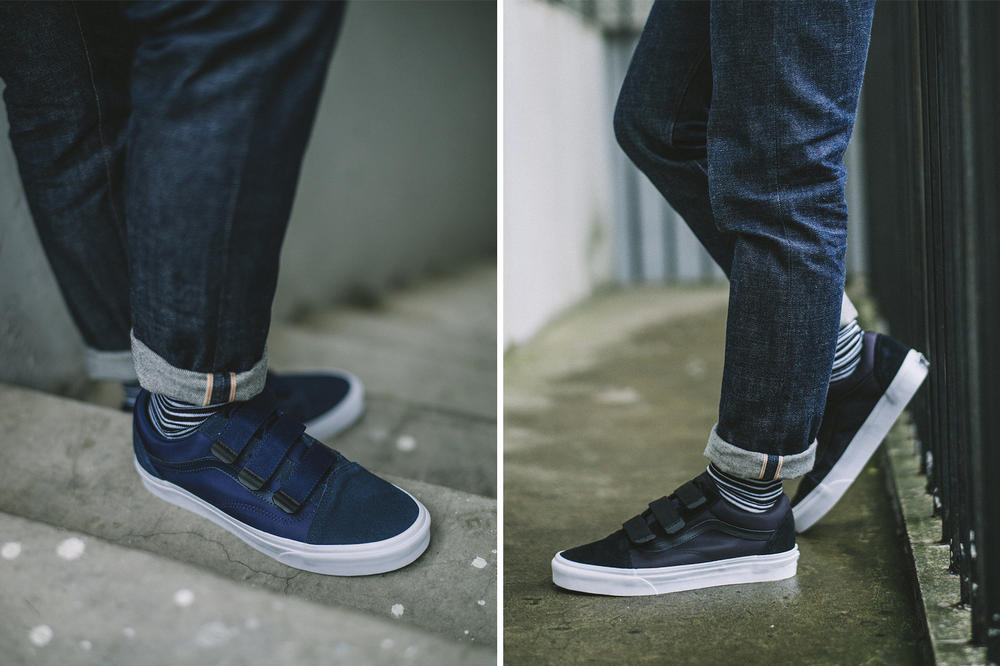 Vans Military Function Collection 2018 Sk8-Hi Reissue Old Skool Classic Slip-On Footwear Sneakers strap straps lacing canvas two 2 suede leather v 5
