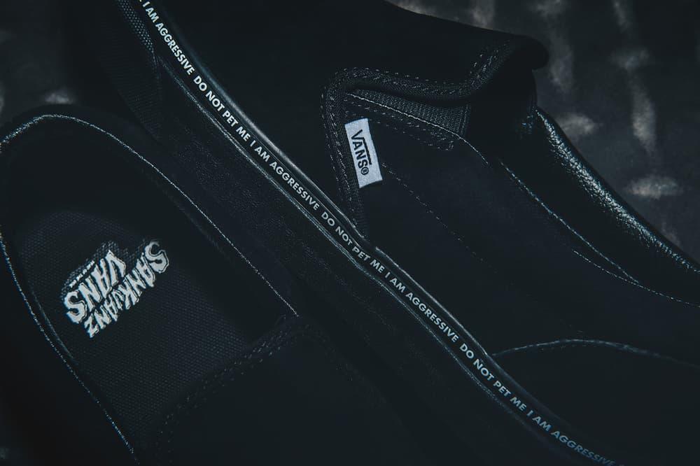 Vans SANKUANZ Year of the Dog Zodiac Footwear Classic Slip-On Style 36 Era mischief liful