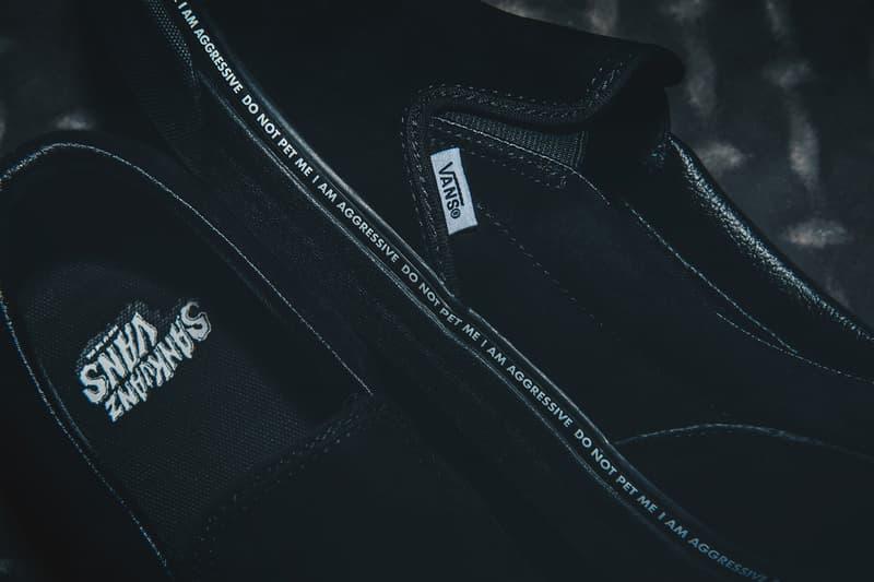 1f88e947c19 Vans SANKUANZ Year of the Dog Zodiac Footwear Classic Slip-On Style 36 Era  mischief