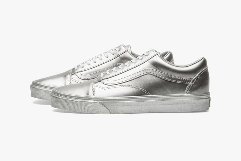 Vans Silver Pack 2018 slip on classic sneaker shoes skateboarding waffle sole doren