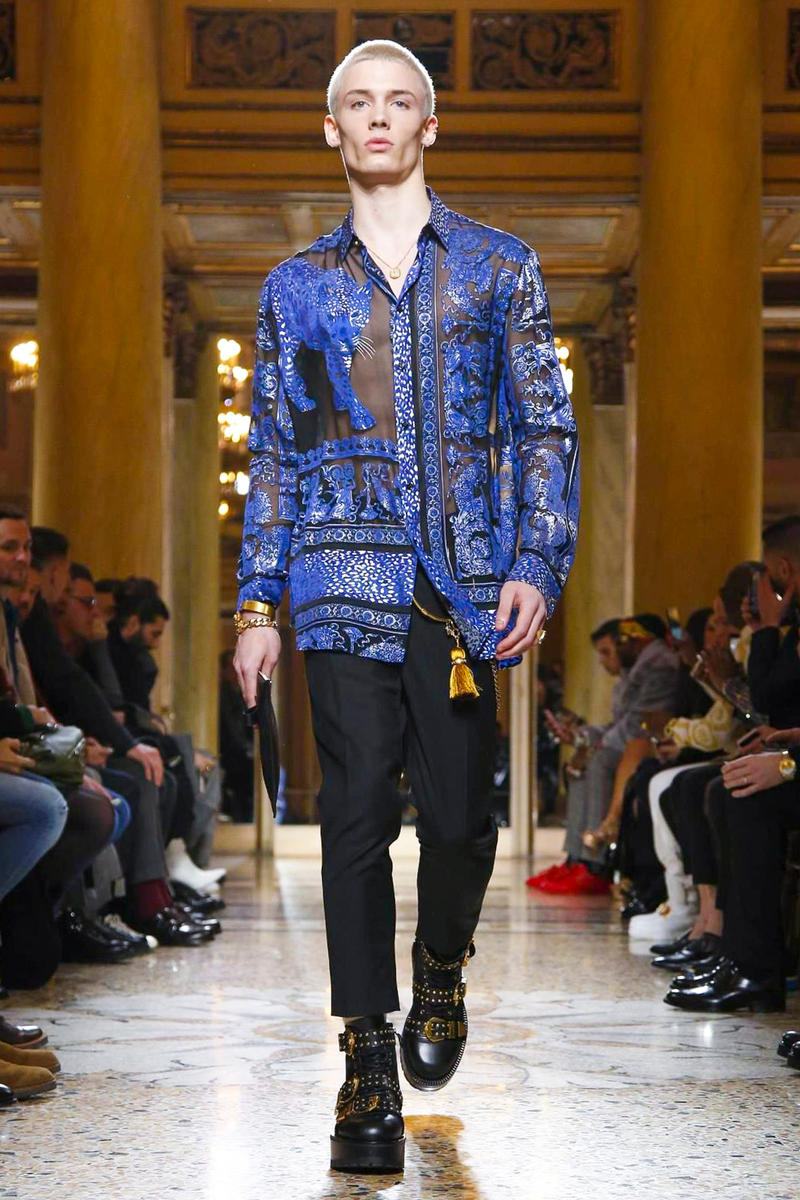 1c58b01e4dd2 Versace 2018 Fall Winter Collection milan fashion week men s 2018 fall  winter