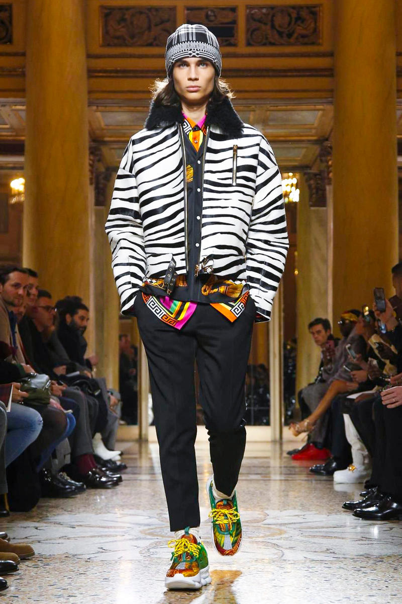 Versace 2018 Fall/Winter Collection milan fashion week men's 2018 fall winter