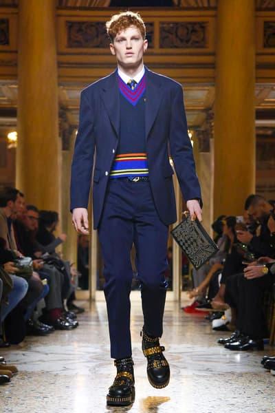 Versace 2018 Fall/Winter Collection milan fashion week men's 2018 fall winter