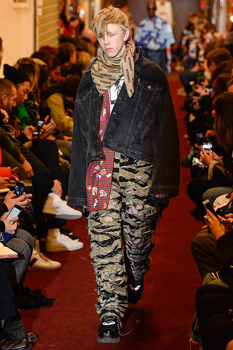 Vetements Fall Winter 2018 Collection Paris Fashion Week Mens