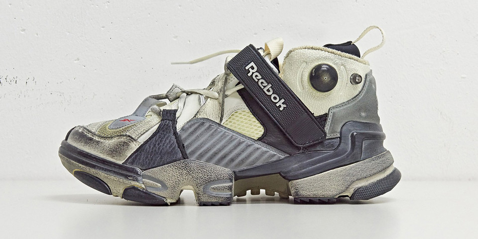 Vetements x Reebok Genetically Modified Sneaker 10 Corso Como Exclusive  1920f2d06c4