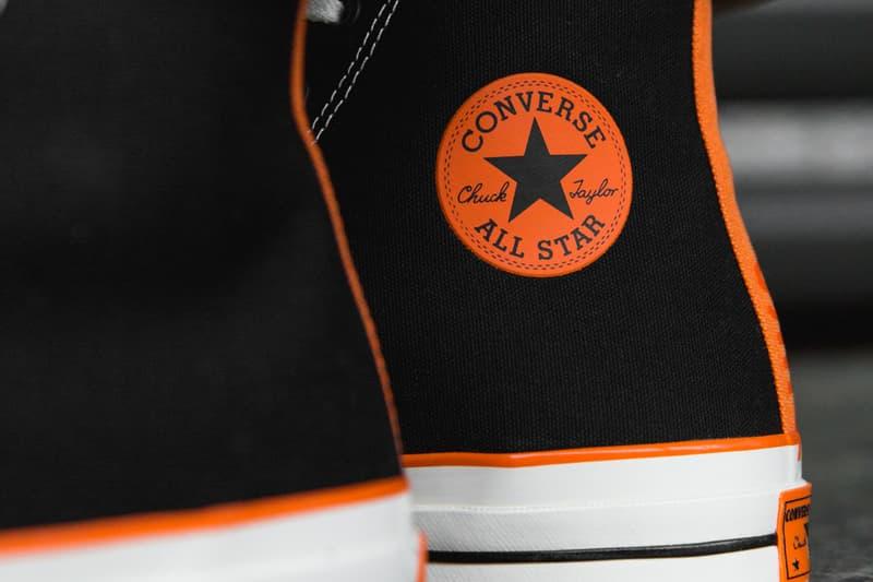 b6add6e1a3ed Vince Staples Converse Chuck 70 Ox Hi On Feet Closer Look release date  drops info Overkill
