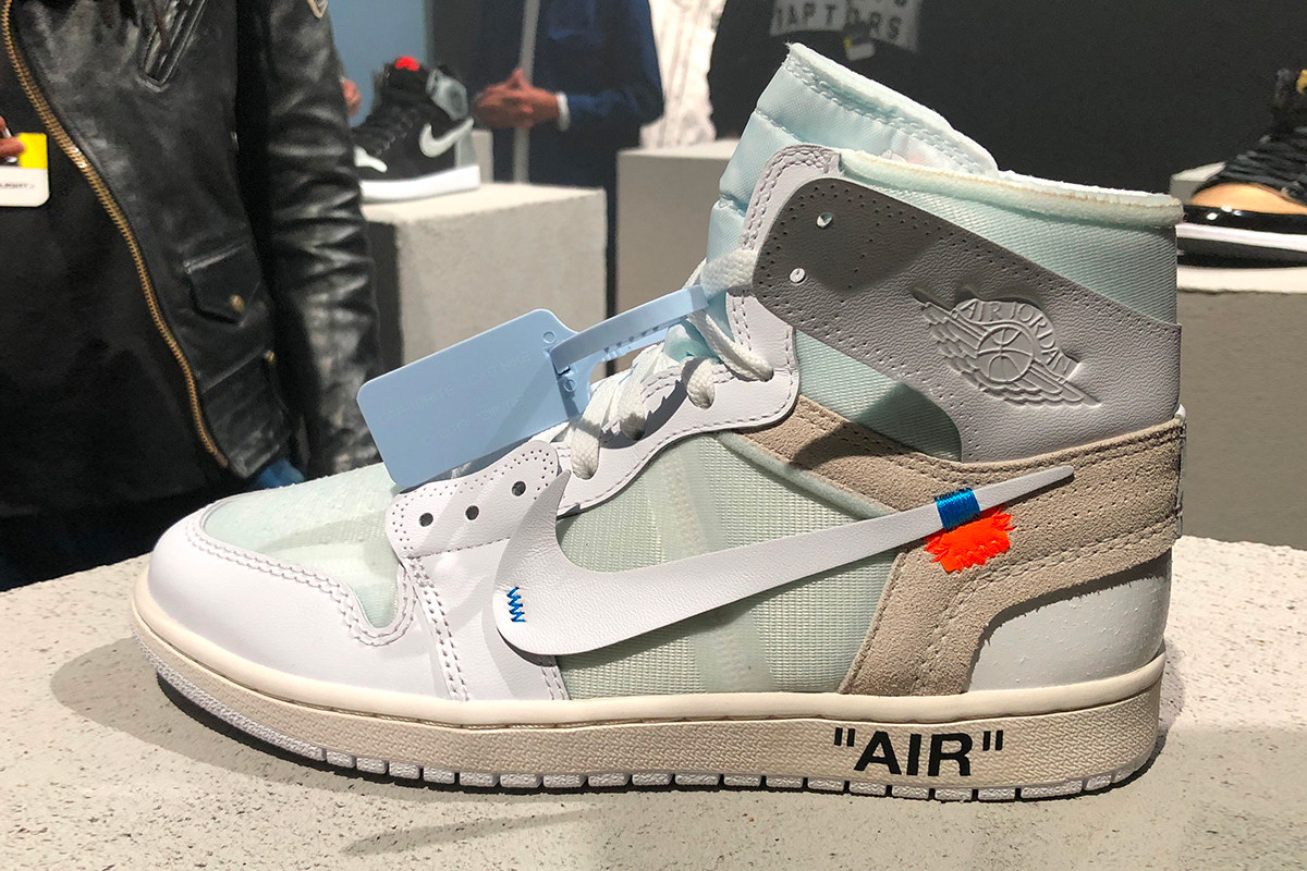 Virgil Abloh x Air Jordan 1 White