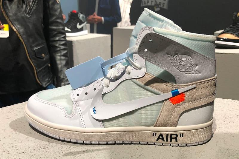 Virgil Abloh Air Jordan 1 White Colorway Closer Look Jordan Brand Nike Off White Future Of Flight