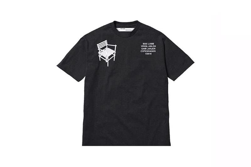"""Off-White™ """"DIY CHAIR"""" CIFF RAVEN T-shirt Virgil Abloh Max Lamb Sami Janjer Samuel Ross OAKLEY"""