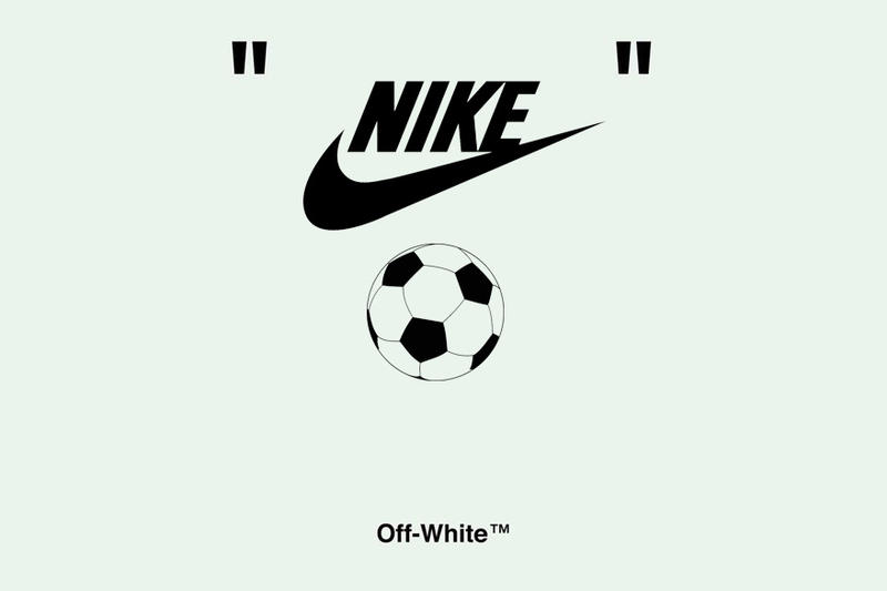Virgil Abloh Off-White x Nike World Cup Soccer