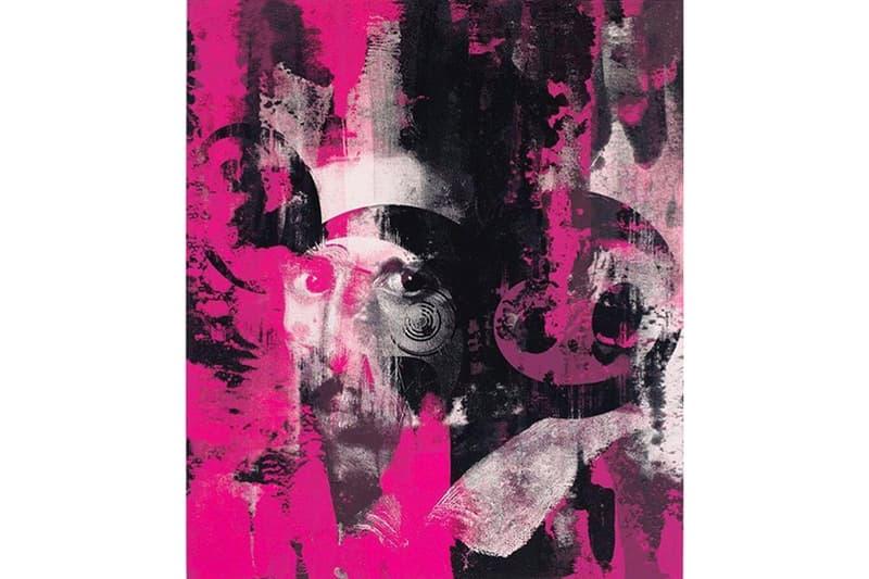 Virgil Abloh Takashi Murakami Gagosian Gallery off white print collaboration