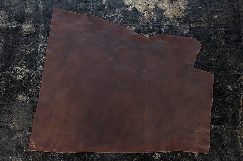 visvim Hiroki Nakamura Natural Paint Leather Dissertation