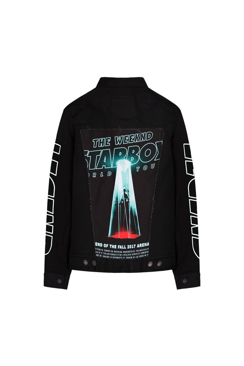 The Weeknd Starboy LEGEND OF THE FALL PHASE TWO Tour Merch Drop Limited Edition 96 hours web store sale