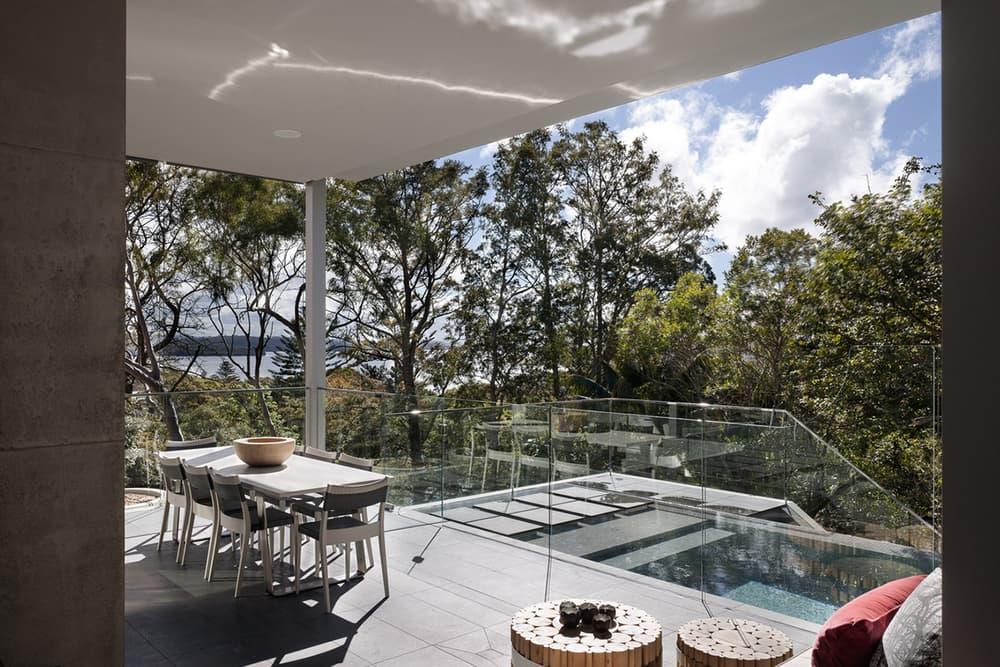 Wentworth House MHN Design Union Vaucluse Australia Sydney Harbour