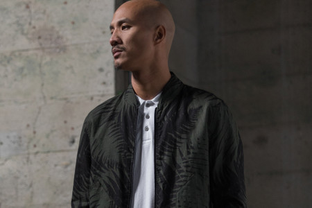 wings+horns Embraces Dark Tones for Spring/Summer 2018