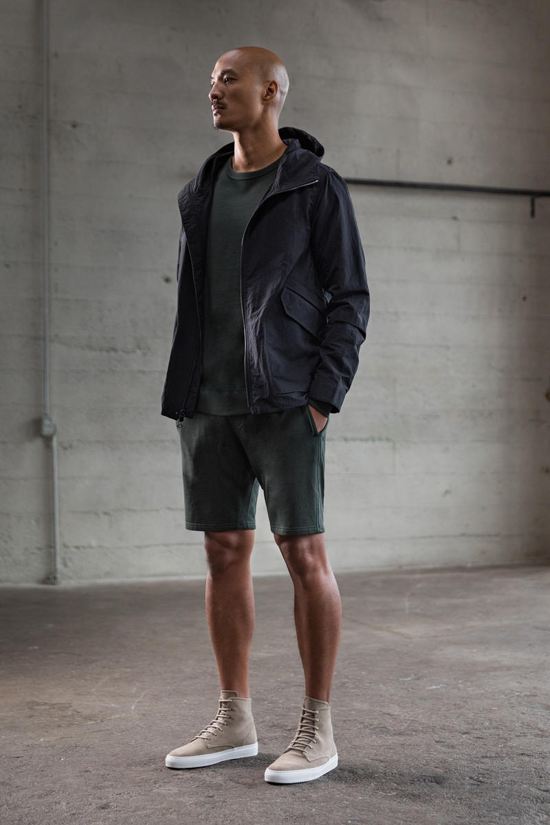 wings+horns Spring Summer 2018 Lookbook Jacket Coat T-shirt Shirt Pant Short Cap